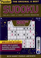 Puzzler Sudoku Magazine Issue NO 200