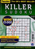 Puzzler Killer Sudoku Magazine Issue NO 169