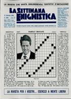 La Settimana Enigmistica Magazine Issue NO 4588