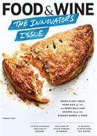 Food & Wine Usa Magazine Issue FEB 20