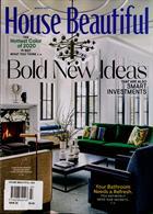 House Beautiful Usa Magazine Issue MAR 20