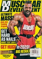 Muscular Development Usa Magazine Issue FEB 20