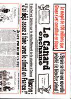 Le Canard Enchaine Magazine Issue 75