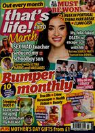 Thats Life Monthly Magazine Issue MAR 20