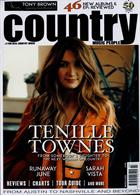 Country Music People Magazine Issue MAR 20