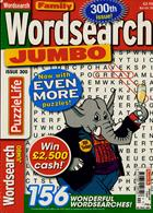 Family Wordsearch Jumbo Magazine Issue NO 300