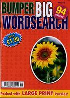 Bumper Big Wordsearch Magazine Issue NO 215