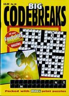 Big Codebreaks Magazine Issue NO 85