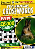 Puzzler Tea Break Crosswords Magazine Issue NO 291
