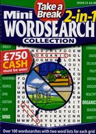 Tab Mini 2 In 1 Wordsearch Magazine Issue NO 23