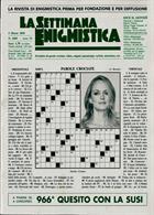 La Settimana Enigmistica Magazine Issue NO 4589
