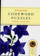 Premium Codeword Puzzles Magazine Issue NO 65