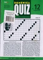 Domenica Quiz Magazine Issue NO 12