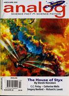 Analog Sci Fi & Fact Magazine Issue MAR-APR