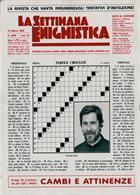 La Settimana Enigmistica Magazine Issue NO 4590