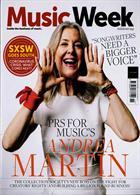 Music Week Magazine Issue 17/03/2020