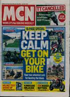 Motorcycle News Magazine Issue 18/03/2020