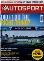 Autosport Magazine Issue 19/03/2020