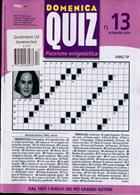 Domenica Quiz Magazine Issue NO 13