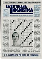 La Settimana Enigmistica Magazine Issue NO 4591