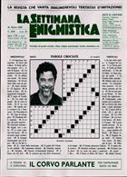 La Settimana Enigmistica Magazine Issue NO 4592