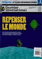 Courrier International Magazine Issue NO 1534