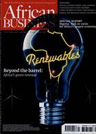 African Business Magazine Issue APR 20