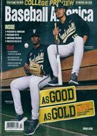 Baseball America Magazine Issue FEB 20