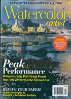 Watercolor Artist Magazine Issue APR 20