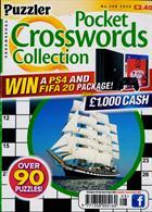 Puzzler Q Pock Crosswords Magazine Issue NO 208
