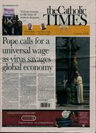 Catholic Times Magazine Issue 17/04/2020