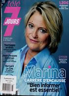 Tele 7 Jours Magazine Issue NO 3123
