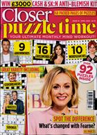 Closer Puzzle Time Magazine Issue NO 10