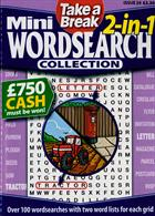Tab Mini 2 In 1 Wordsearch Magazine Issue NO 24