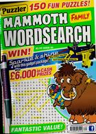 Puzz Mammoth Fam Wordsearch Magazine Issue NO 62