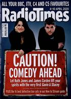 Radio Times London Edition Magazine Issue 04/04/2020