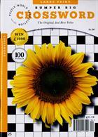 Bumper Big Crossword Magazine Issue NO 130