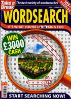 Take A Break Wordsearch Magazine Issue NO 4