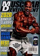 Muscular Development Usa Magazine Issue MAR 20