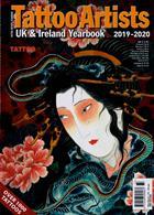 Tattoo Artists Year Book Magazine Issue NO 33