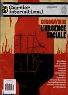 Courrier International Magazine Issue NO 1536