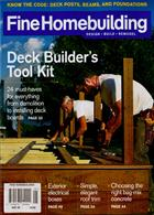 Fine Homebuilding Magazine Issue MAY 20