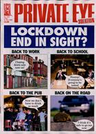 Private Eye  Magazine Issue NO 1521