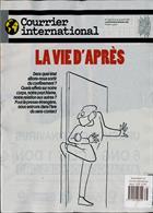 Courrier International Magazine Issue NO 1538