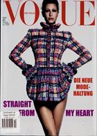 Vogue German Magazine Issue NO 4