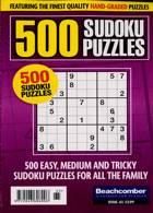 500 Sudoku Puzzles Magazine Issue NO 65