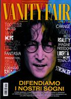 Vanity Fair Italian Magazine Issue NO 20016-7