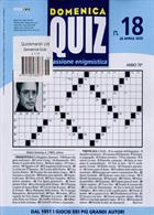 Domenica Quiz Magazine Issue NO 18