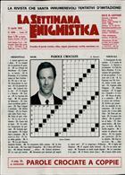 La Settimana Enigmistica Magazine Issue NO 4596