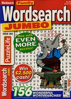 Family Wordsearch Jumbo Magazine Issue NO 302
